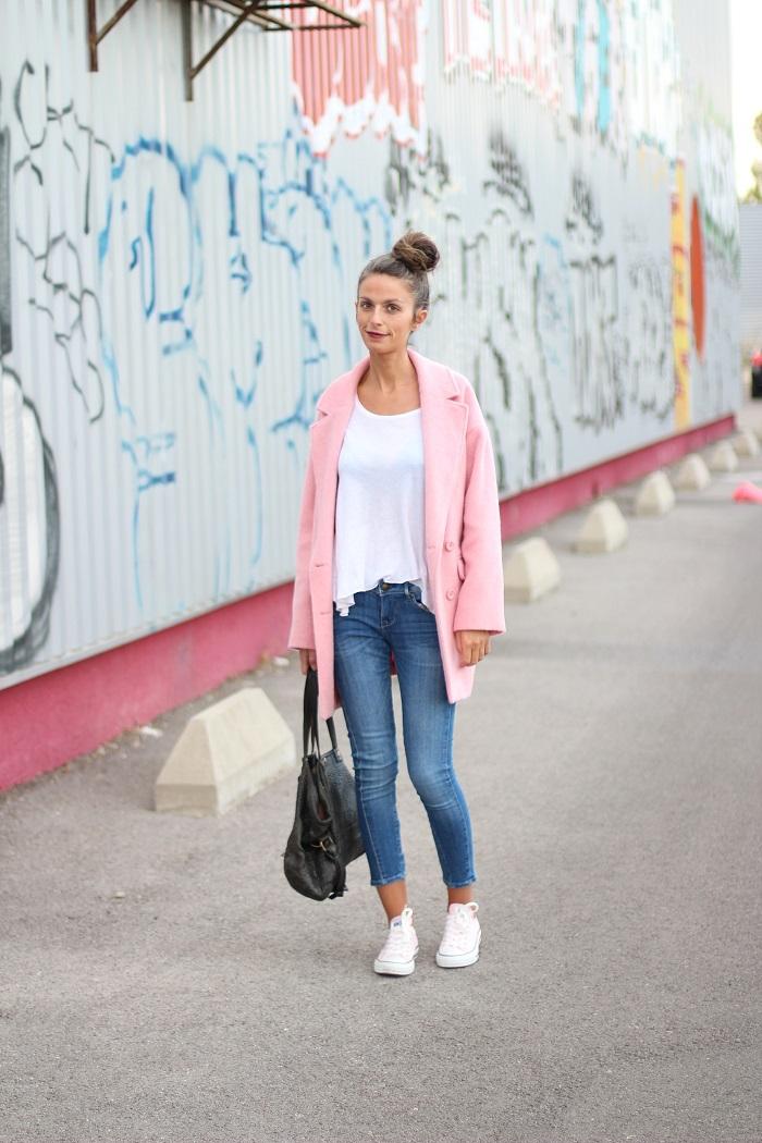 blog mode,blogueuse mode,au pays de candy,mode,tendances,looks,comment s'habiller,idées tenues,fashion,dressing,closet,camaieu,oversize,rose,converse,jérôme dreyfuss