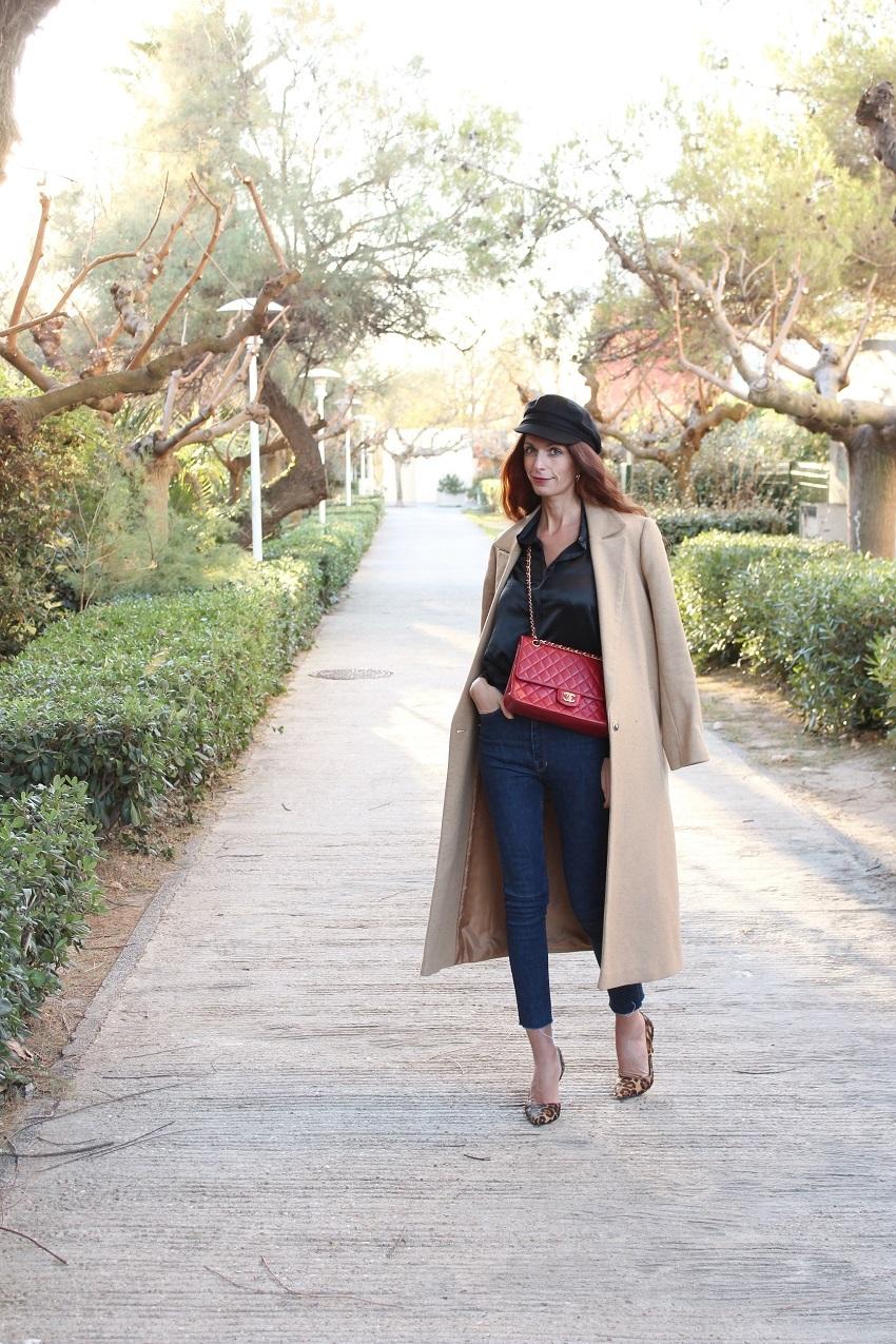 blog mode,blog mode au pays de candy,blog mode montpellier,blog montpellier,blogueuse mode,asos,manteau asos,manteau camel,long coat,casquette de marin,lilysilk,shirt lilysilk,chemise soie,sac chanel,chanel vintage,april77,boden,escarpins boden