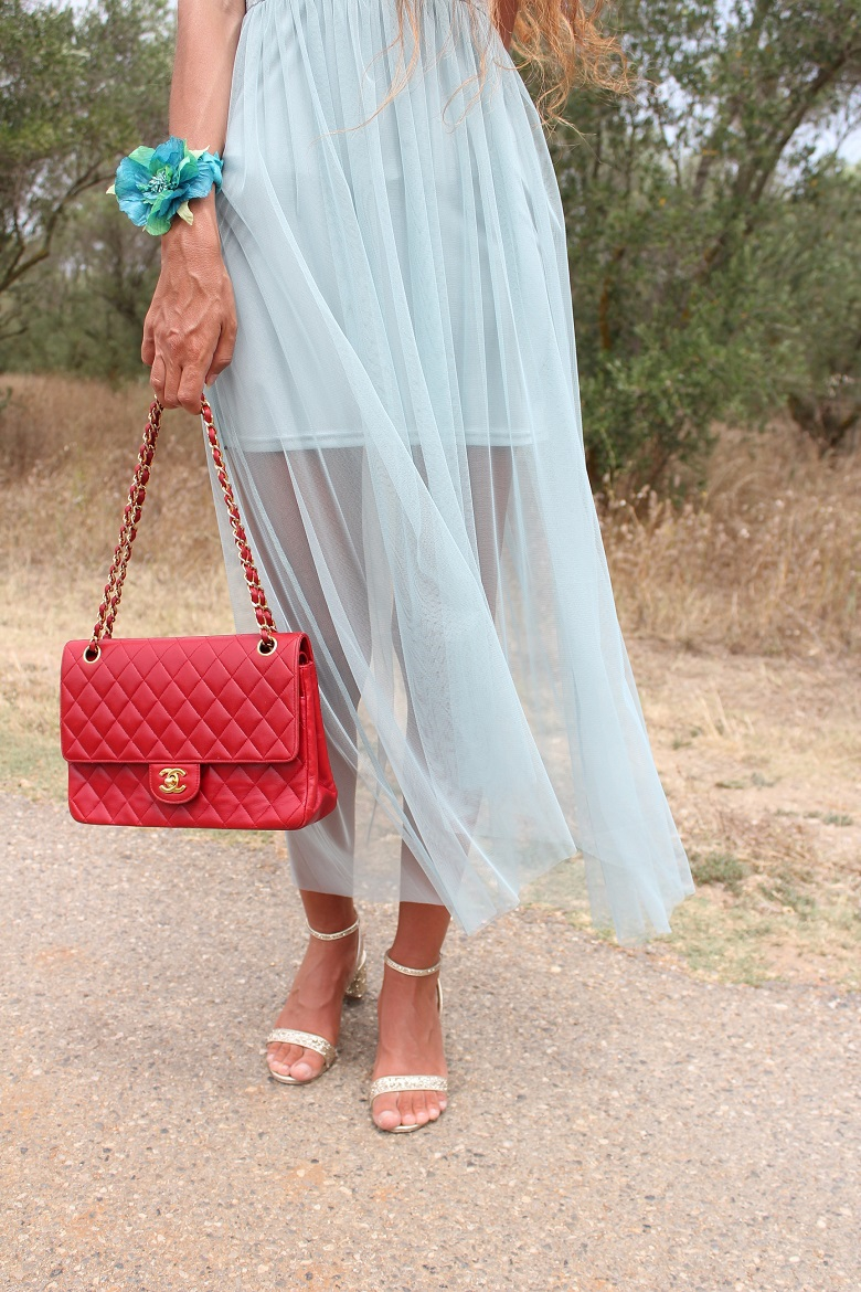 blog mode montpellier,blog mode au pays de candy,blog mode,oliviers,sac chanel,sac chanel rouge,robe h&m,robe tutu