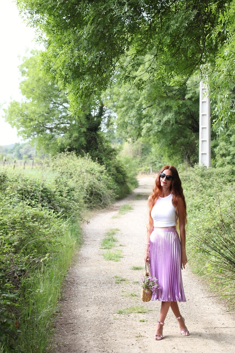 blog au pays de candy,blog mode,blog mode au pays de candy,blog mode montpellier,blog montpellier,blog palavas,miss guided,missguided,jupe soleil,jupe midi,crop top,comment porter une jupe midi