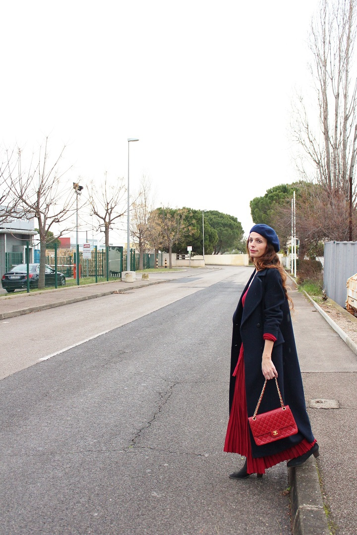 aupaysdecandy,blog mode montpellier,long coat,long dress,metisu,metisu dress