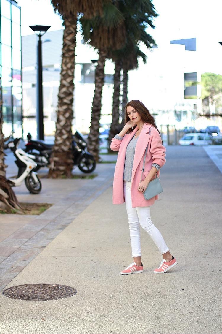 adidas gazelle rose pale porter
