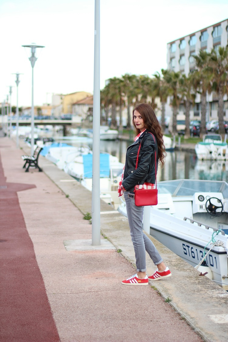 blog mode,blogueuse mode,au pays de candy,tenue,comment s'habiller,look,tendances,fringues,adidas,gazelle,celine,trio bag,schott,perfecto