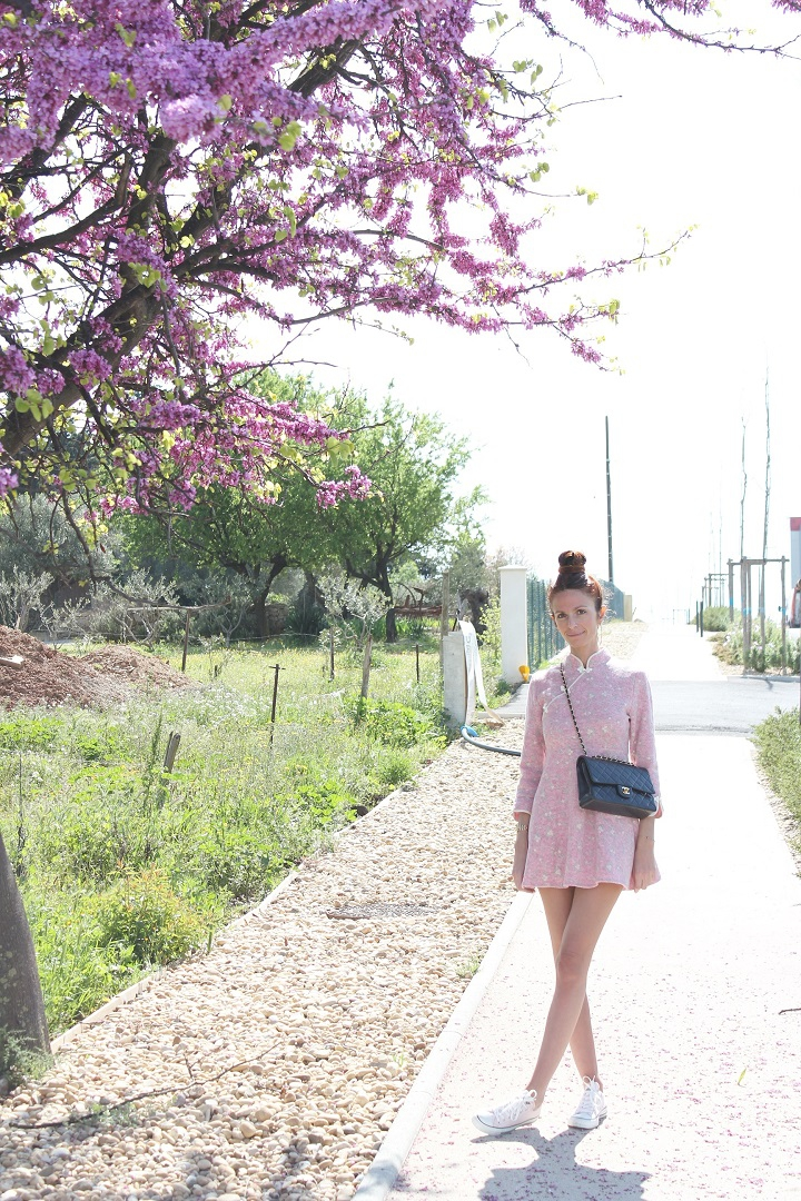 cherry blossom,la fille au cerisier,robe metisu,blog mode,au pays de candy,blog mode montpellier