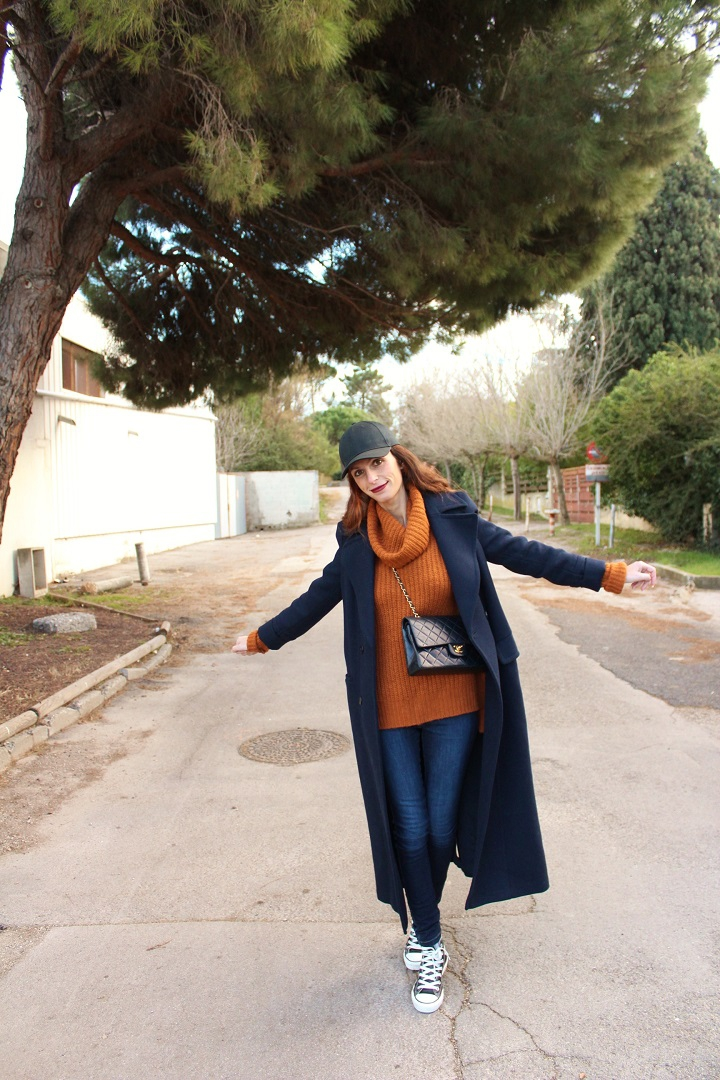 blog mode,blog mode montpellier,sac chanel,long coat,long manteau,manteau zara,pull kiabi